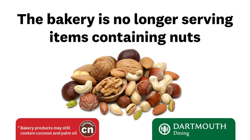 No Nuts in Bakery