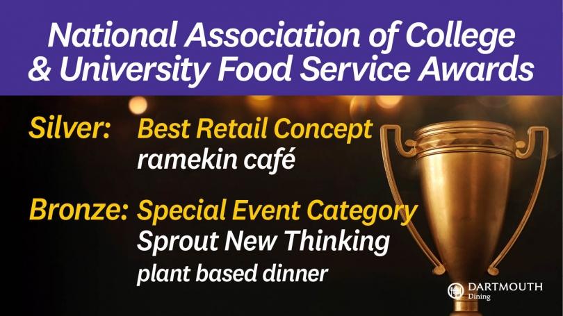 NACUFS food awards