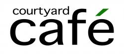 Courtyard Cafe text logo